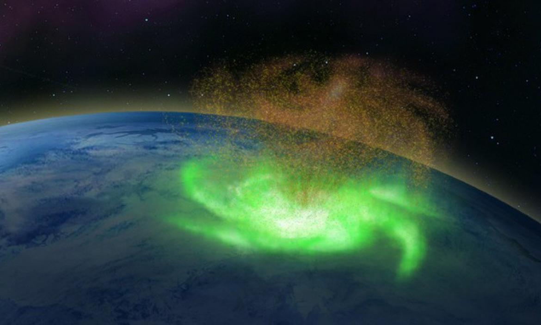 Se trata de una réplica local del fenómeno observado en múltiples ocasiones desde lejos sobre otros planetas