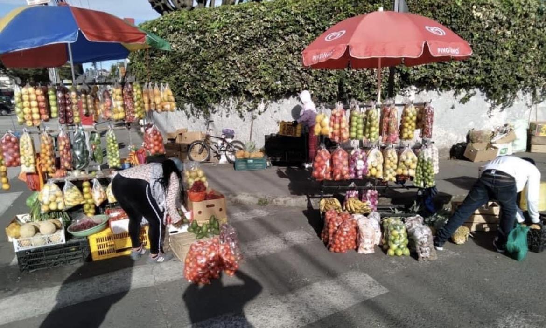 Comerciantes desalojados