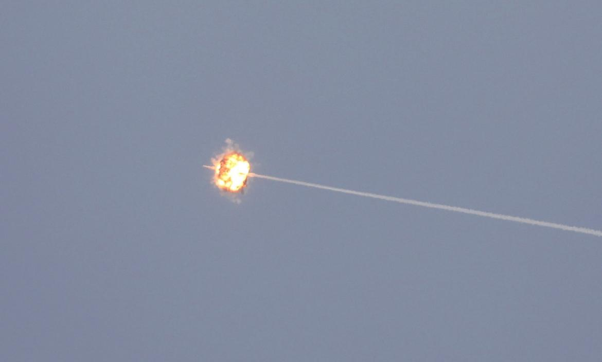Rockets fired from Ga (33269443)