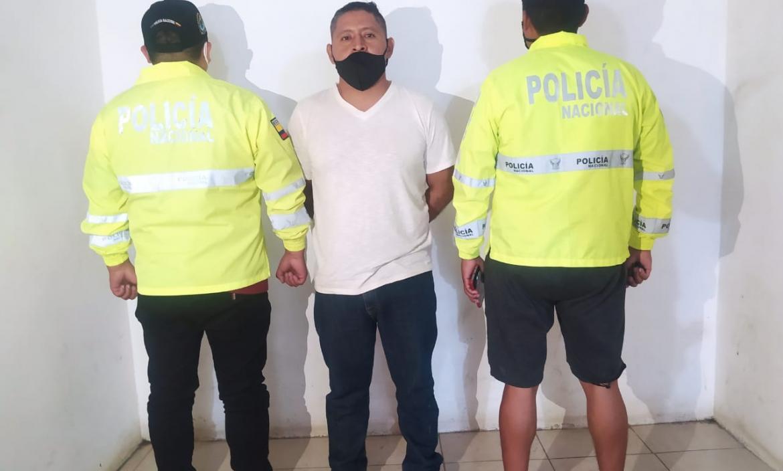 El sospechoso fue puesto a órdenes de las autoridades.