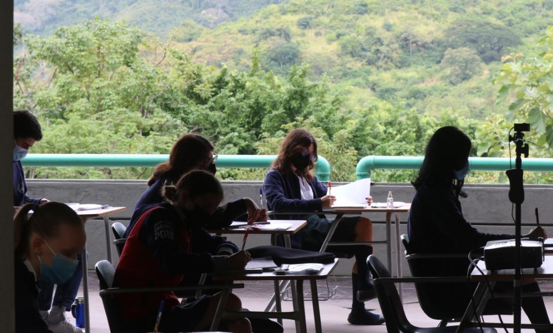 Se reportan dos casos de covid-19 entre alumnos de clases presenciales.