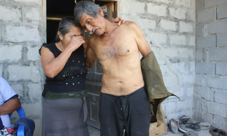 thumbnail_el comunero Eleno Quinde fue recibido ayer por su esposa