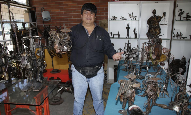 Fernando Moreno - Chatarra - Artista