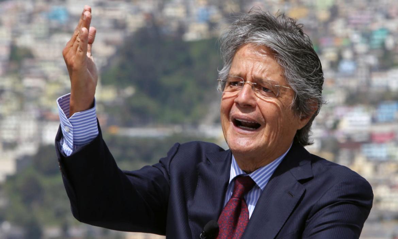 El presidente Guillermo Lasso, asistió al lanzamiento de la etsrategia