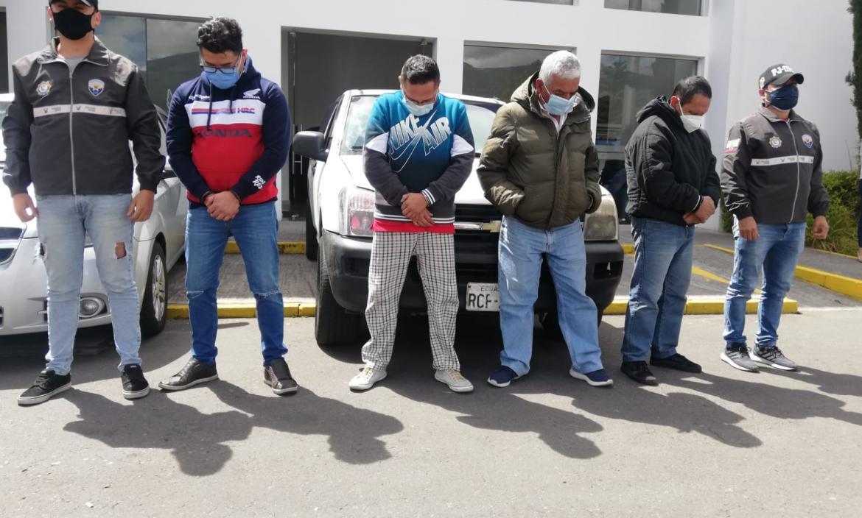 Detenidos - Banda - Quito