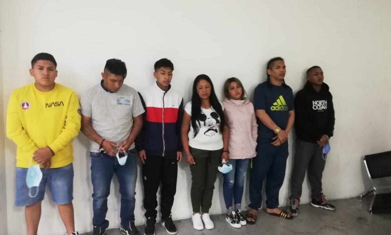 Detenidos - Extorsionadores - Quito