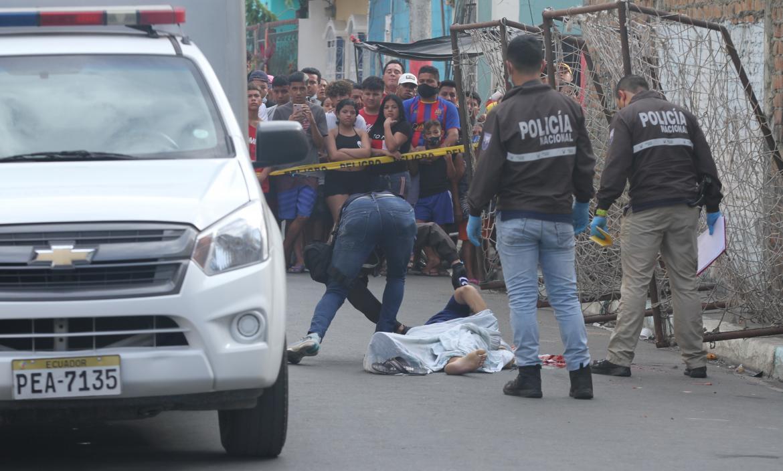 En el Guasmo Central de Guayaquil fue asesinado Jordy Soto Castellón.
