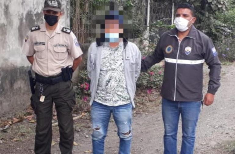 Violación - Babahoyo - Detenido