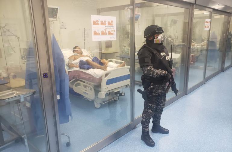 resguardo - Salcedo - hospital - Guayaquil