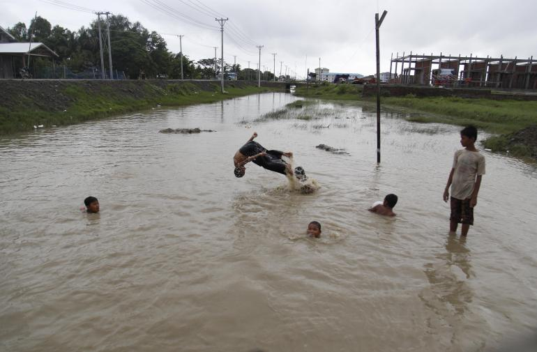Heavy monsoon rain of (31944166)
