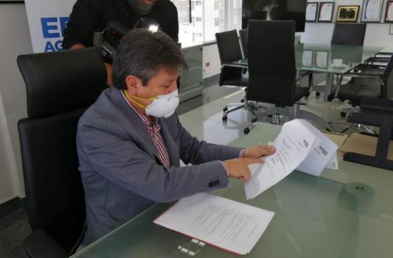 Luis Medina, gerente general de Agua de Quito