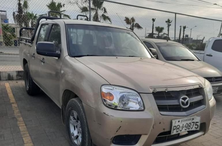 Camioneta robada en Guayaquil