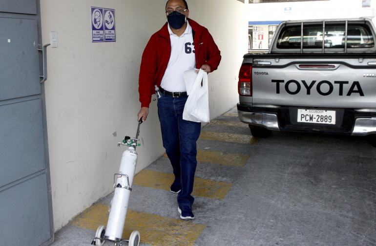 Oxígeno - Coronavirus - Quito