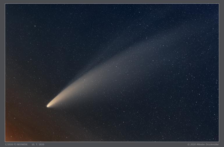 Cometa - Astrología - Tierra - Fenómeno