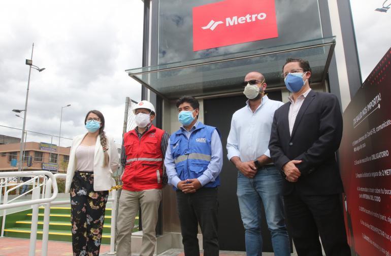 Municipio - Jorge Yunda - Quito - Metro