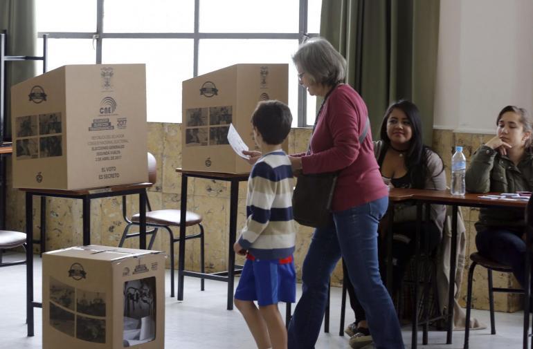 SEGUNDA VUELTA DE ELECCIÓN PRESIDENCIAL ECUADOR 2017