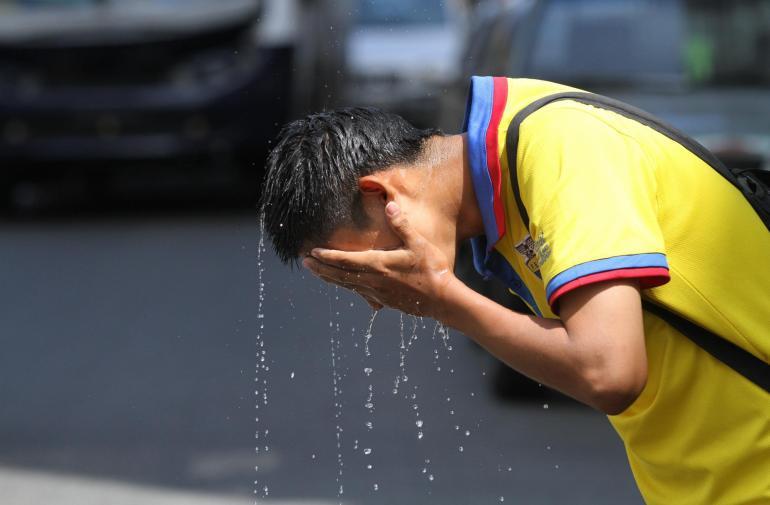 DÍAS SOLEADOS ELEVAN LA TEMPERATURA EN GUAYAQUIL