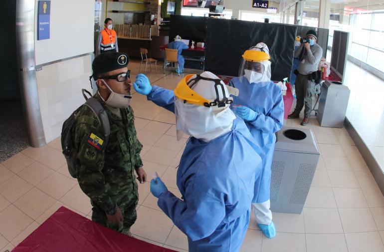 aeropuerto - pruebasPCR - coronavirus
