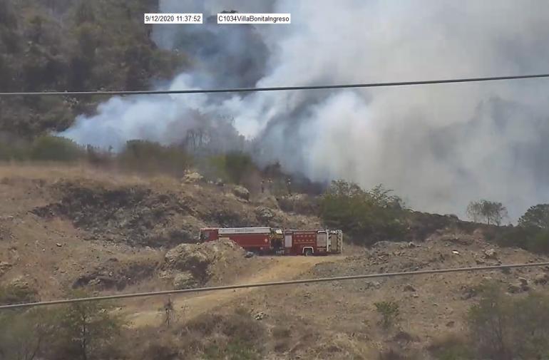 incendio Villa Bonita 2