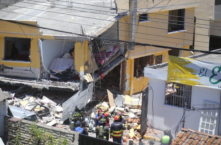 Explosión - Cumbayá - Feriado