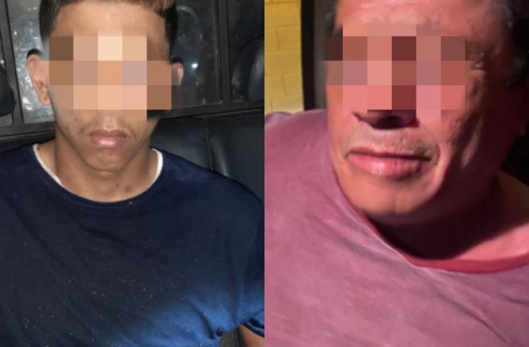 Elvis Chávez y Wilmer fueron detenidos por la Policía.