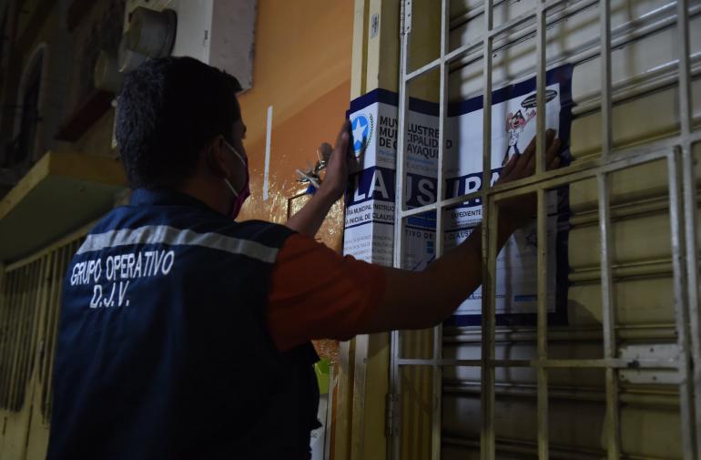 clausura municipio
