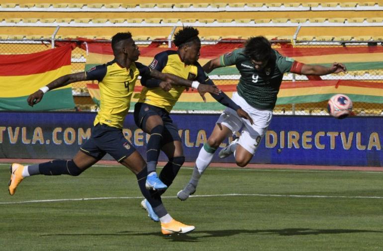 Ecuador pierde 1-0 ante Bolivia, en La Paz.