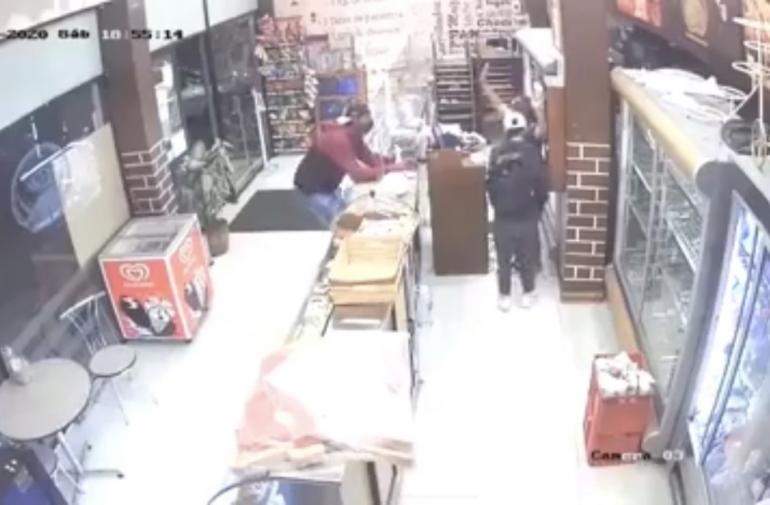 asalto panadería