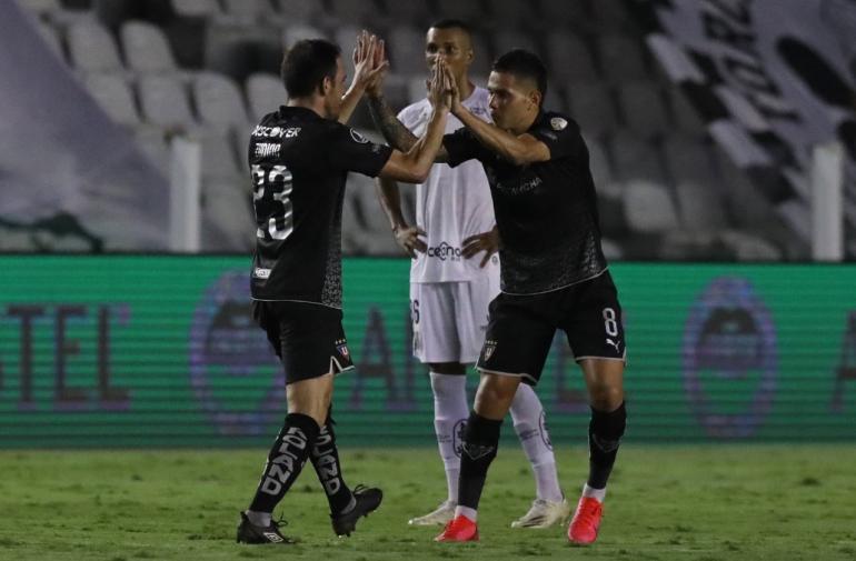 A Liga de Quito no le alcanzó el gol que le metió al Santos.