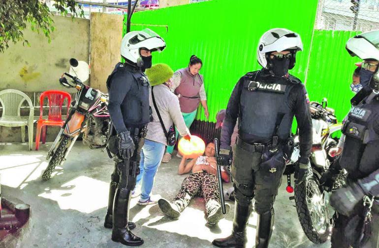 Apuñalados - Quito - Inseguridad