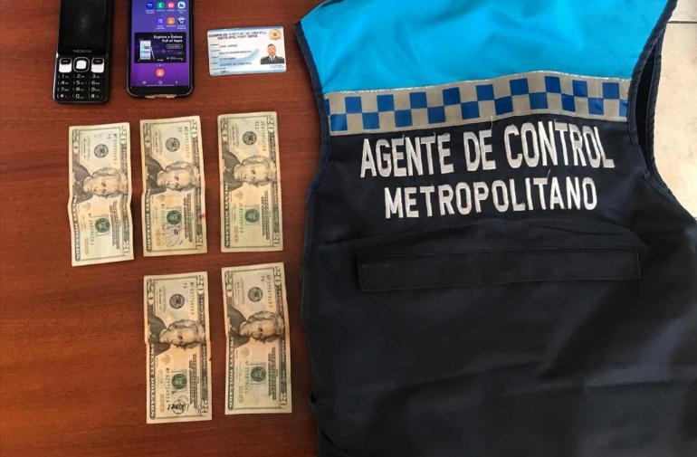 Detenido - Metropolitano - Concusión