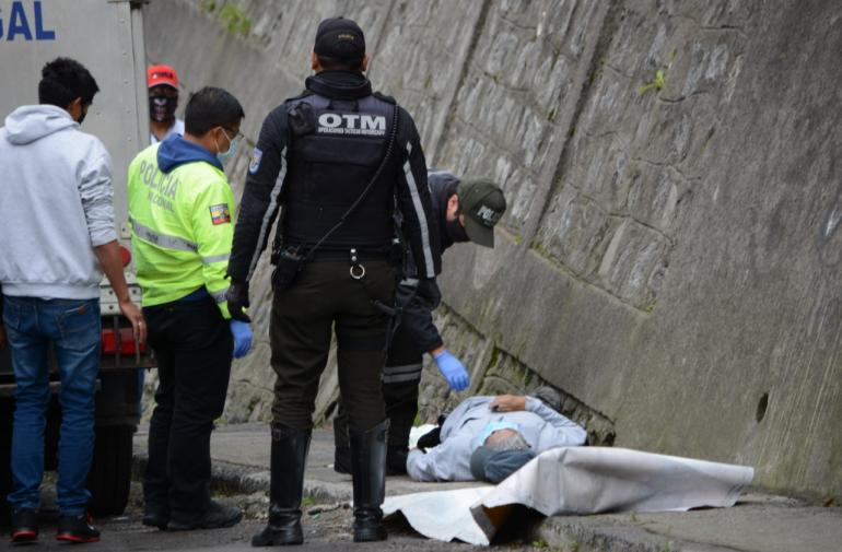 Muerto - Infarto - Quito