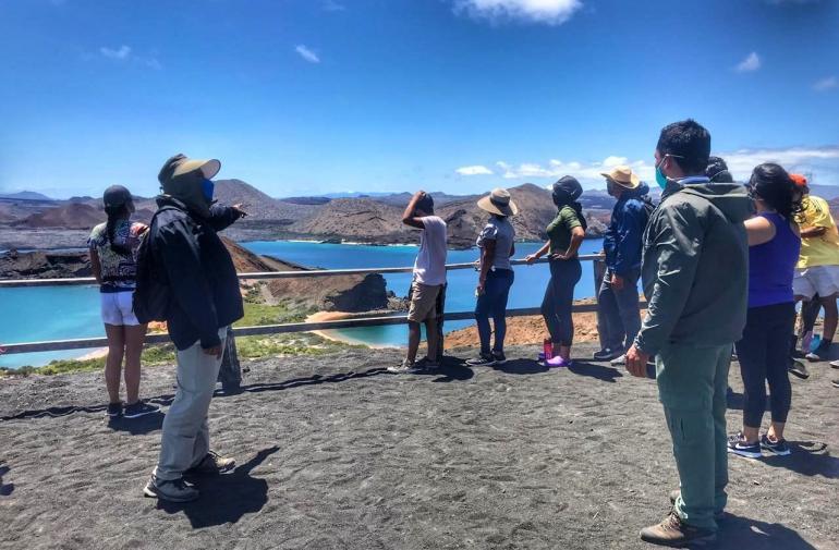 Galápagos turistas