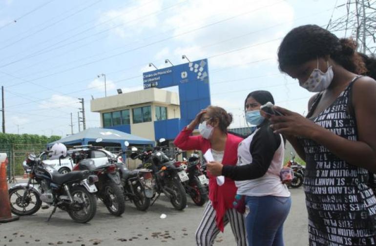 Nuevos desmanes al interior de la cárcel de Guayaquil.