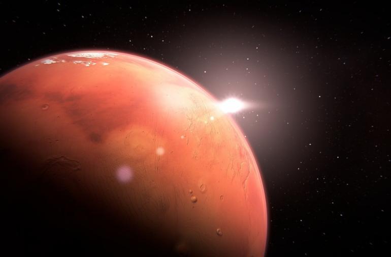 El agua de Marte está desapareciendo en el espacio.
