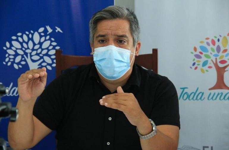 Camilo Salinas es el nuevo ministro de Salud.