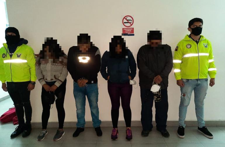 Detenido - Robo -  Quito