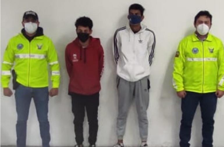 Robo - Detenidos - Pillos