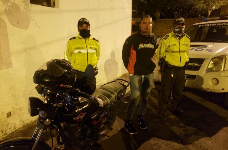 Detenidos - Robo - Quito
