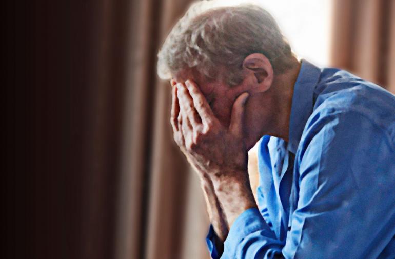 El adulto mayor se decidió y presentó la denuncia en contra de su ex.