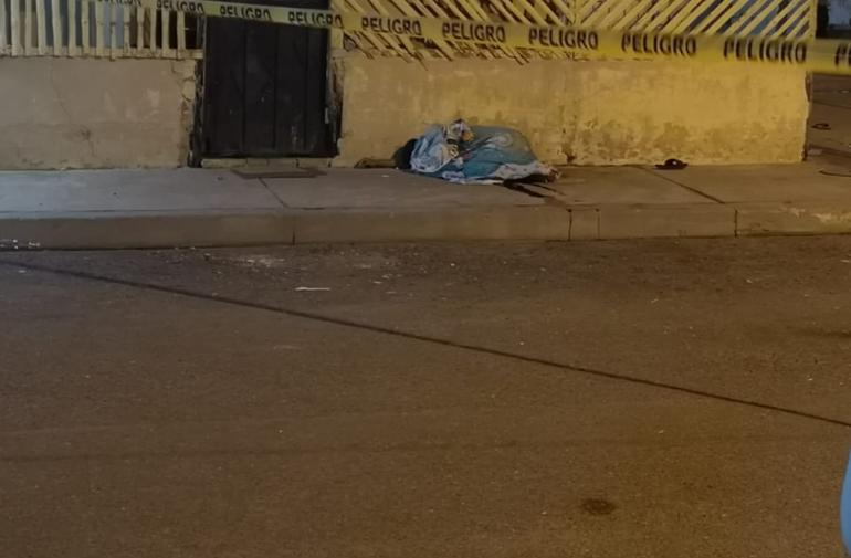 En este sector fueron asesinados Bryan Daniel Moreira y Josué Cevallos Véliz.
