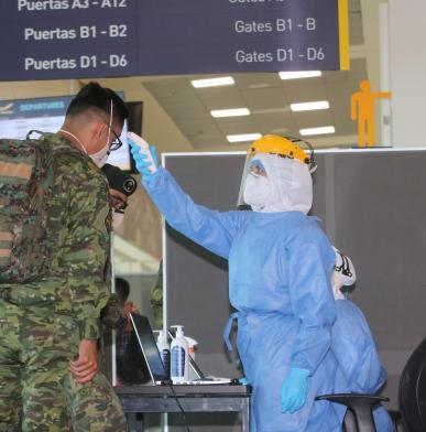 Aeropuerto - Quito - Pasajeros