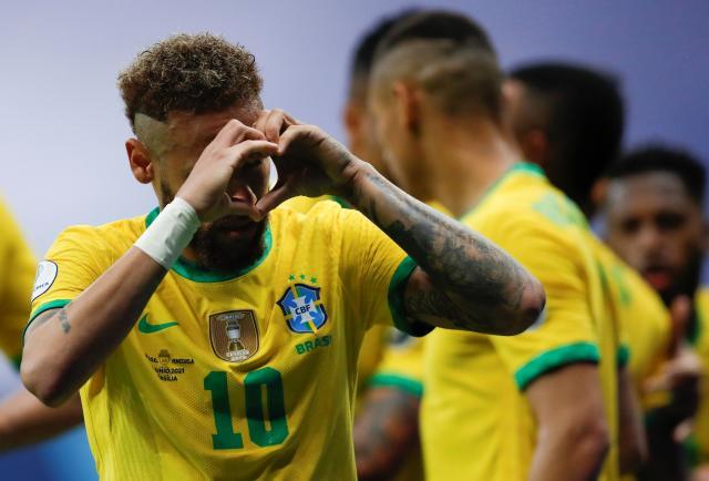 Venezuela goleada por la covid-19 y Brasil