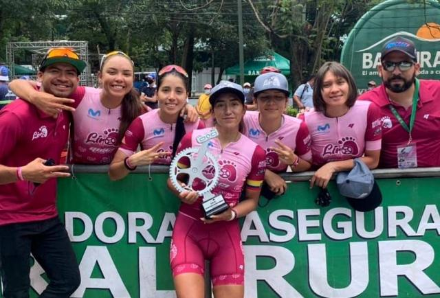 Miryam Núñez se coronó vicecampeona de la Vuelta a Guatemala