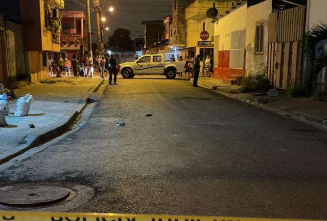 La noche del domingo 'zumbó' la bala en el norte y noroeste de Guayaquil