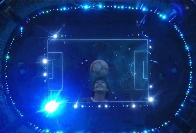 Emotivo homenaje a Diego Maradona en la Copa América