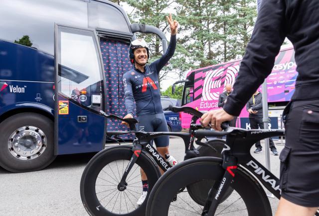 Richard Carapaz, en el Olimpo del ciclismo