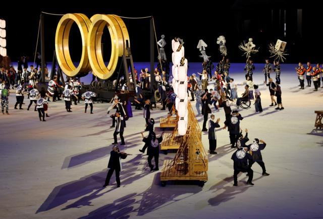 Así comenzó la ceremonia inaugural de los Juegos Olímpicos de Tokio