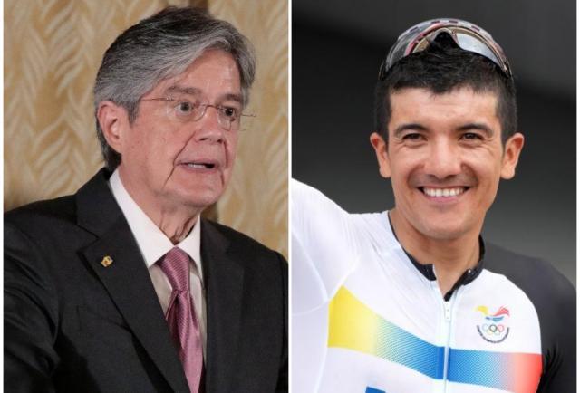 El 'presi' Lasso le pegó un 'fonazo' a Carapaz tras su medalla dorada, ¿qué le dijo?
