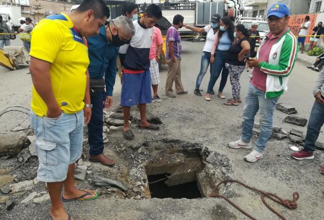Santa Elena: Hallaron plano de 'pillos-topos'